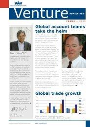 VENTURE Issue 1 - Wallenius Wilhelmsen Logistics