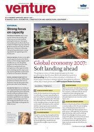 Global economy 2007 - Wallenius Wilhelmsen Logistics