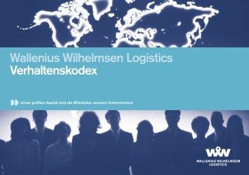 Wallenius Wilhelmsen Logistics Verhaltenskodex
