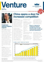 China opens a door for increased competition - Wallenius ...