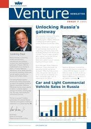 VENTURE Issue 7 - Wallenius Wilhelmsen Logistics