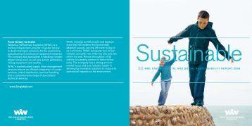 ESR Summary Report 2008 (PDF) - Wallenius Wilhelmsen Logistics