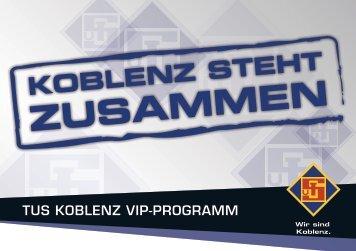 LOREM IPSUM DOLOR EST TUS KOBLENZ VIP-PROGRAMM