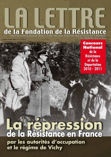 brochure pédagogique - Fondation de la France Libre