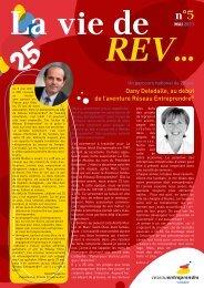 La Vie de REV 5 - Réseau Entreprendre Vendée