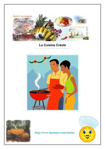 Cuisine Créole (pdf)