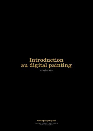 Introduction au digital painting - EPIC