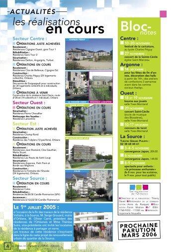 DOC JOURNAL OPAC ORLEANS N°5 - Résidences Orléanais