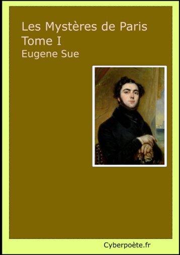 Les Mystère de Paris par Eugène Sue