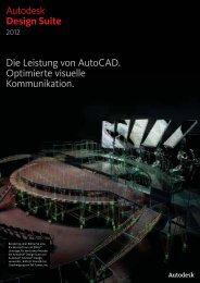 Autodesk® Design Suite Die Leistung von ... - 3D CAD GmbH