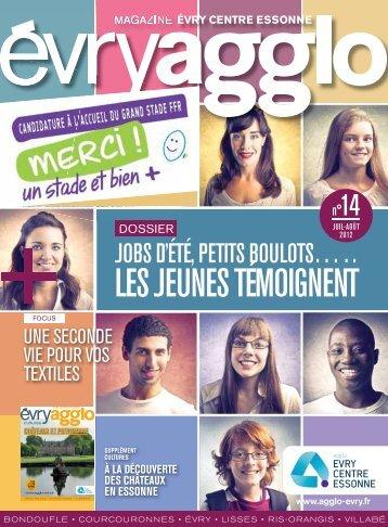 évryagglo magazine n°14 - Juillet - Août 2012 - Communauté d ...
