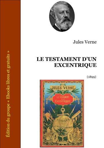 LE TESTAMENT D'UN EXCENTRIQUE - Zvi Har'El's Jules Verne ...