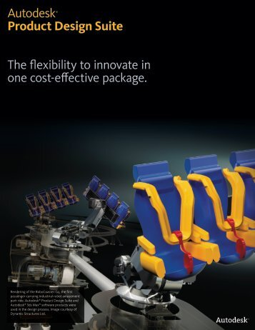 Autodesk® Product Design Suite The flexibility to ... - 3D CAD GmbH