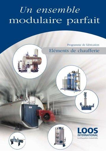 Un ensemble modulaire parfait - LOOS Chaudières industrielles