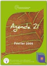 Agenda 21 complet - Communauté de Communes du Pays des ...