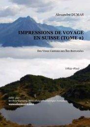impressions de voyage en suisse (tome 2) - Bibliothèque numérique ...
