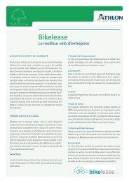 Bikelease - Athlon Car Lease