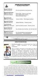 20 au 27 fév. 2011 - Paroisse La Bienheureuse-Marie-Rose-Durocher