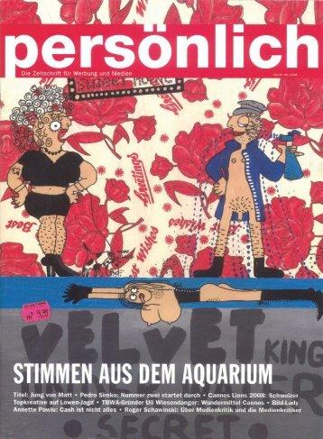"""Page 1 P rS0"""""""" Die Zeitschrift für Werbung und Medien / nu/I _ _ *lt ..."""