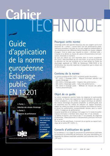 Page 6 env - Norme europeenne en 13241 1 ...