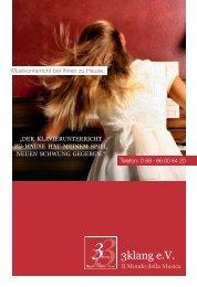 Download Info-Flyer (PDF) - 3klang eV