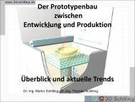 Bericht vom 4. Merseburger Rapid Prototyping Forum - 3D-Schilling