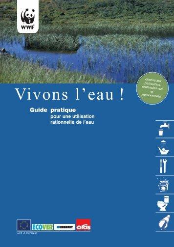 Brochure Vivons l'eau - WWF Belgium