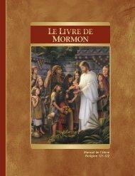 livre de mormon, manuel de l'étudiant - The Church of Jesus Christ