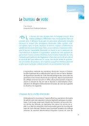 Yves Déloye, « Le bureau de vote », Regards sur l'actualité, n° 329 ...