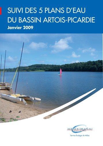 suivi des 5 plans d'eau du bassin artois-picardie - Agence de l'eau ...