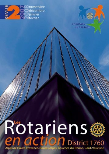 Responsable de publication : Jean-Michel BÉCAVIN - Rotary ...