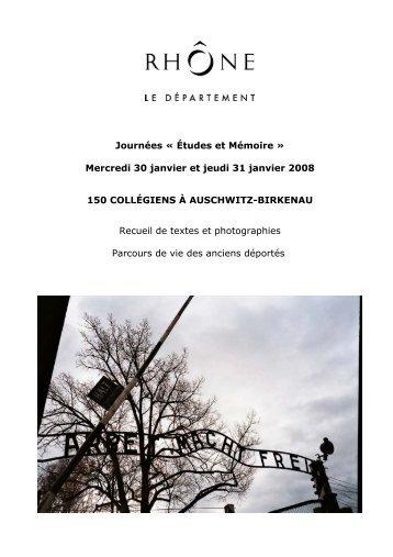 Parcours de vie - Rhône
