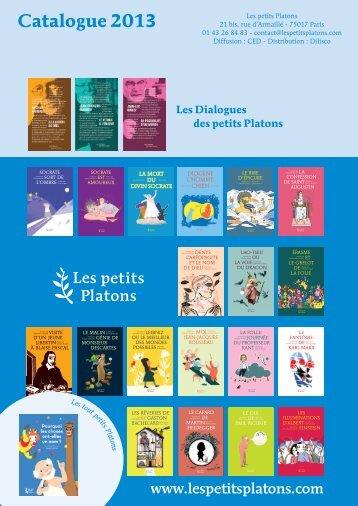 Catalogue 2013 - Les Petits Platons