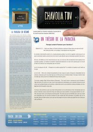 Télécharger le PDF Chavoua Tov Lekh Lekha 5772 - Torah-Box.com