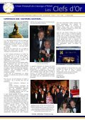Newsletter N° 10 - Les clefs d'or France - Page 2