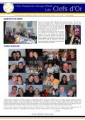 Newsletter N° 10 - Les clefs d'or France - Page 4