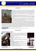 Newsletter N° 10 - Les clefs d'or France - Page 7