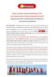 Lire - Marmara - Espace Presse