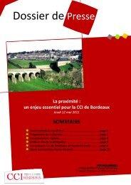 Dossier de Presse - CCI Bordeaux