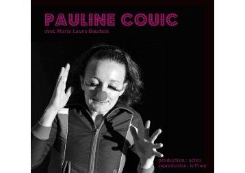 Télécharger le dossier de présentation en PDF. - Pauline Couic