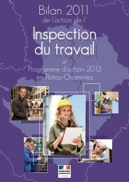 Bilan 2011 de l'Inspection du travail et programme d ... - Direccte