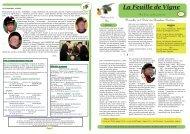 Télécharger la feuille de vigne N°25 - Ordre des Chevaliers Bretvins