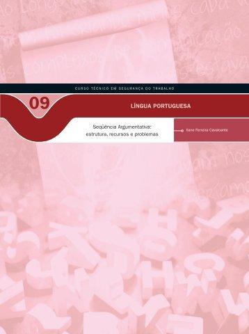 Língua Portuguesa IX - Rede e-Tec Brasil - Ministério da Educação