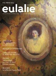 février 2013 : PDF - Eulalie