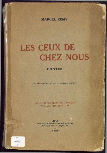 LES CEUX DE - Archives et musée de la littérature