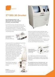 Z™350 3D Drucker - 4D Concepts