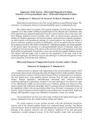 1 Suppurative Otitis Externa - Diferrential Diagnostical ... - Famona Site