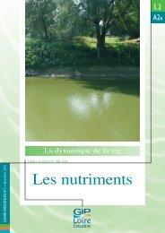 Les nutriments - GIP Loire Estuaire