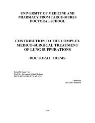 university of medicine and pharmacy from targu-mures doctoral ...