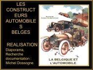 LES CONSTRUCT EURS AUTOMOBILE S BELGES REALISATION